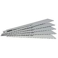 Draper 02313 Expert 150mm 5/8tpi Hss Reciprocating Saw Blades For Multi Purpose Cutting - Pack Of 5 Blades