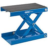Draper 04991 450kg Motorcycle Scissor Stand With Pad