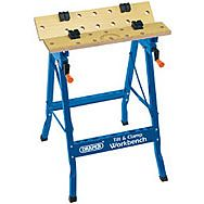 Draper 09951 600mm Tilt & Clamp Fold Down Workbench