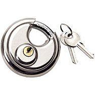 Draper 22157 70mm Close Shackle Stainless Steel Padlock