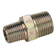 """Draper 25868 3/8"""" Male To 1/4"""" Male Bsp Taper Reducing Union Pack Of 3"""