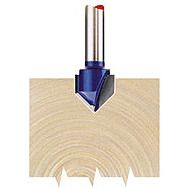 "Draper 75336 1/4"" Groove 12.7mm X 90 Degree Tct Router Bit"