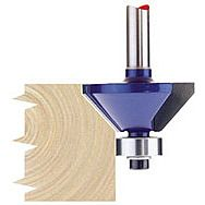 "Draper 75340 1/4"" Chamferring 30mm X 45 Degree Tct Router Bit"