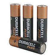 Duracell Plus AA Battery 4pk
