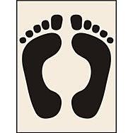 Feet Stencil (300 x 400mm)