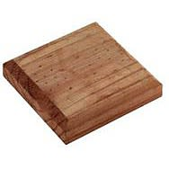 Square Fence Finial Base Plate