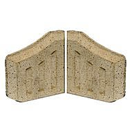Fireclay Coal Saver Fire Bricks Pair
