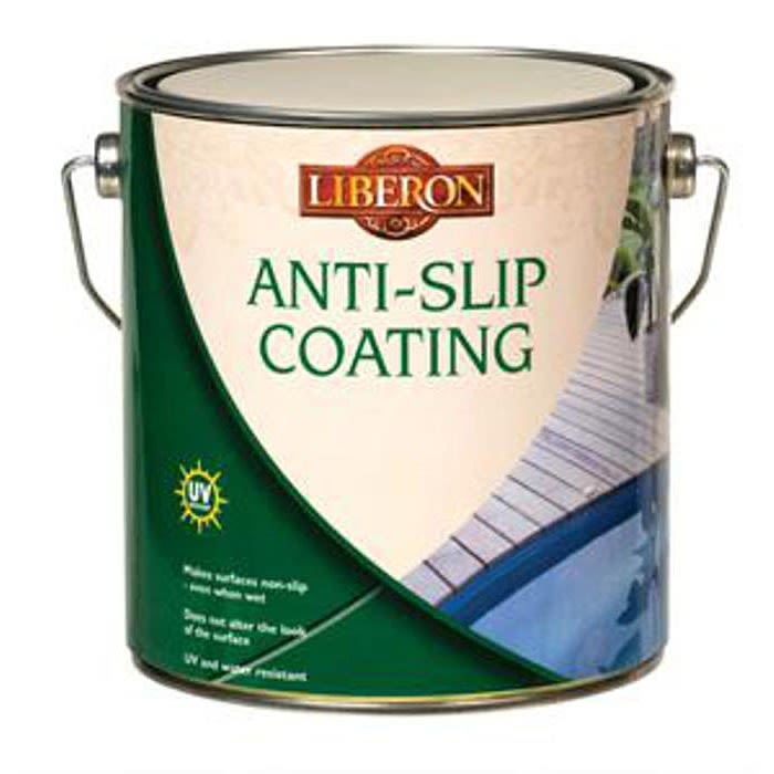 Liberon Anti-Slip Coating 2.5L - Clear Satin - Ray Grahams