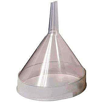 "Lucy Hardware 4"" Plastic Funnel"
