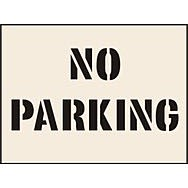 No Parking Stencil (300 x 400mm)