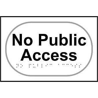 No public access - Taktyle (225 x 150mm)