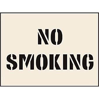 No Smoking Stencil (190 x 300mm)