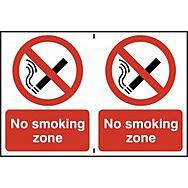 No smoking zone - PVC (300 x 200mm)