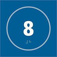 Number 8 - Taktyle (150 x 150mm)