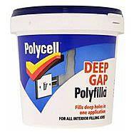 Polycell Deep Gap Polyfilla 1L Tub
