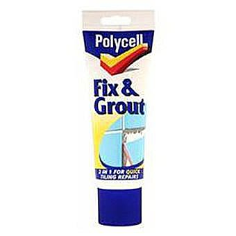 Polycell Fix & Grout 330g Tube
