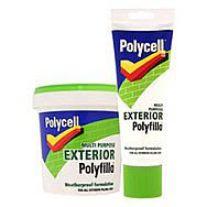 Polycell Multi Purpose Exterior Polyfilla 330g Tube- Ready Mixed