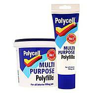 Polycell Multi Purpose Polyfilla 1kg Tub -  Ready Mixed