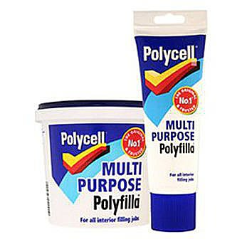 Polycell Multi Purpose Polyfilla 1kg Tub -  Ready Mixed