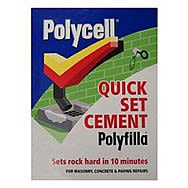 Polycell Quick Set Cement Polyfilla 2kg Box