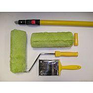 Prodec Masonary Roller Kit Inc Brush And Pole