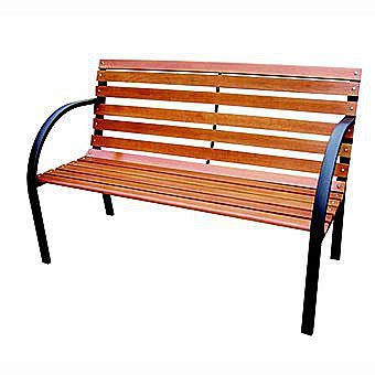 Redwood Leisure Two Seater Timber Garden Bench FC121