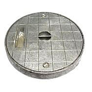 Round Alloy Seal Plate 197mm
