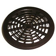 Round Soffit Vent Brown