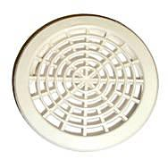 Round Soffit Vent White