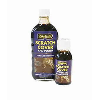 Rustins Scratch Cover & Polish 250ml Bottle - For Dark Furniture