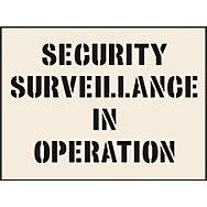 Security Surveillance In Operation Stencil (190 x 300mm)