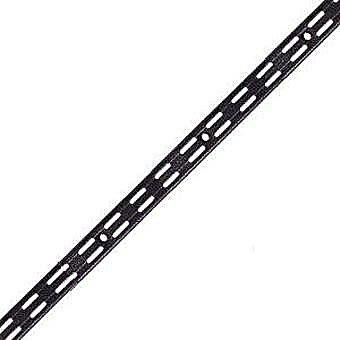 Sovella Upright Shelf Rail Black - 200cm