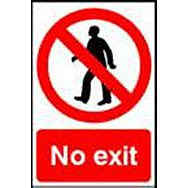 Spectrum 0602 No Exit Sign