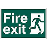 Spectrum 1507 Fire Exit Sign  (Man Running To Right)