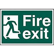 Spectrum 1508 Fire Exit Sign  (Man Running To Left)