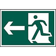 Spectrum 1531 Man Running With Arrow Left Sign  (Graphic Only