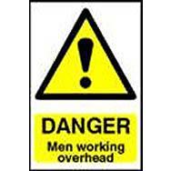 Spectrum 4105 Danger Men Working Overhead Sign
