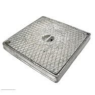 Square Alloy Seal Plate 225 x 225mm