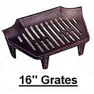 16 Inch Fire Grates