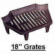 18 Inch Fire Grates