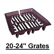 20-24 Inch Fire Grates