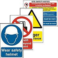Work, Household & Traffic Signs
