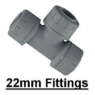22mm Polyplumb Fittings
