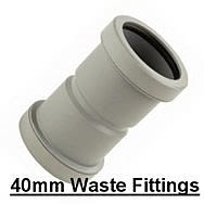 40mm Waste Fittings