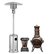 Chimineas & Patio Heaters