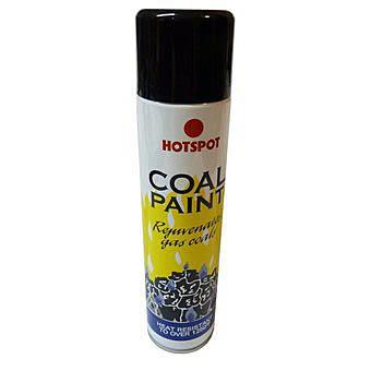 Hotspot Black Coal Paint for Rejuvenating Gas Coals 300ml