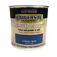 RustOleum Universal All Surface Paint 250ml Cobalt Blue