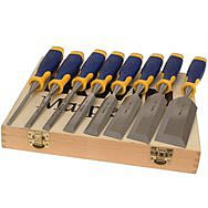 Marples S500 Splitproof Chisel Set 6 Piece With 2 Free Chisels