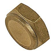 Compression Blanking Cap 1/2 Inch BSP - Screw on