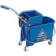 Draper 20 Litre Kentucky Mop Bucket With Wringer 24838